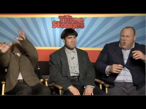 Larry Curly & Moe talk The Three Stooges - JoBlo.com