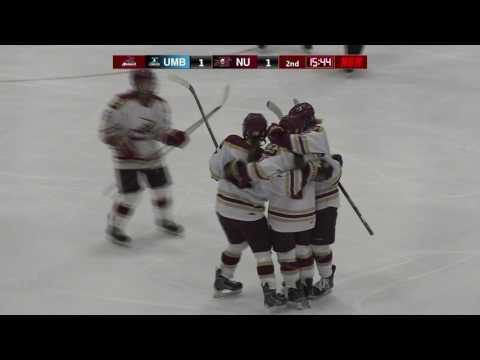 UMass Boston at Norwich University Women's Hockey Highlights