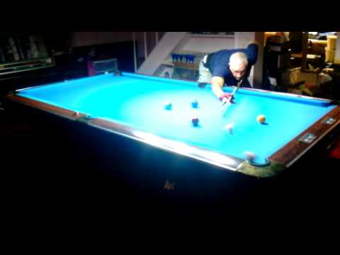 Straight Pool 123 Ball Run