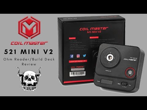 THE NEW Coil Master 521 Mini TAB v2 Review