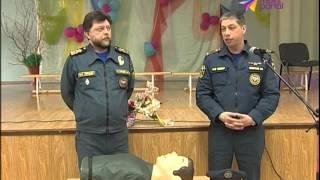 Сочинские спасатели провели урок безопасности в школе №24