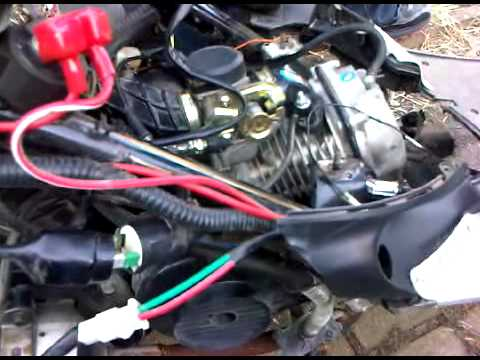 110 Atv Wiring Fuse Baotian Bt49qt 9 Starting Problems Youtube