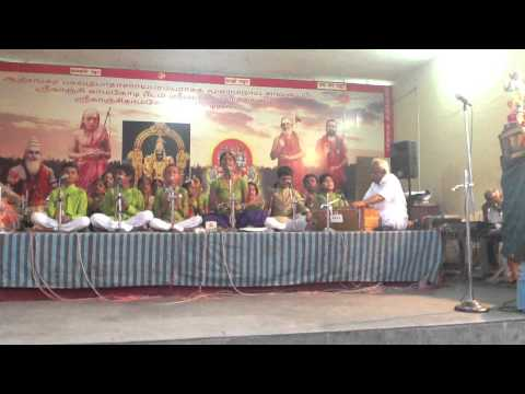 Amba Bhavani Sarade Bhajan by Sangeethakalapeetam Students