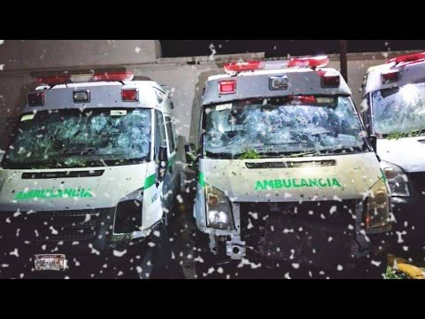 Hail Storm SMASHED everything in its path in Coahuila, Mexico.