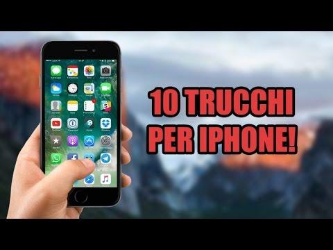 10 TRUCCHI UTILI PER IPHONE!