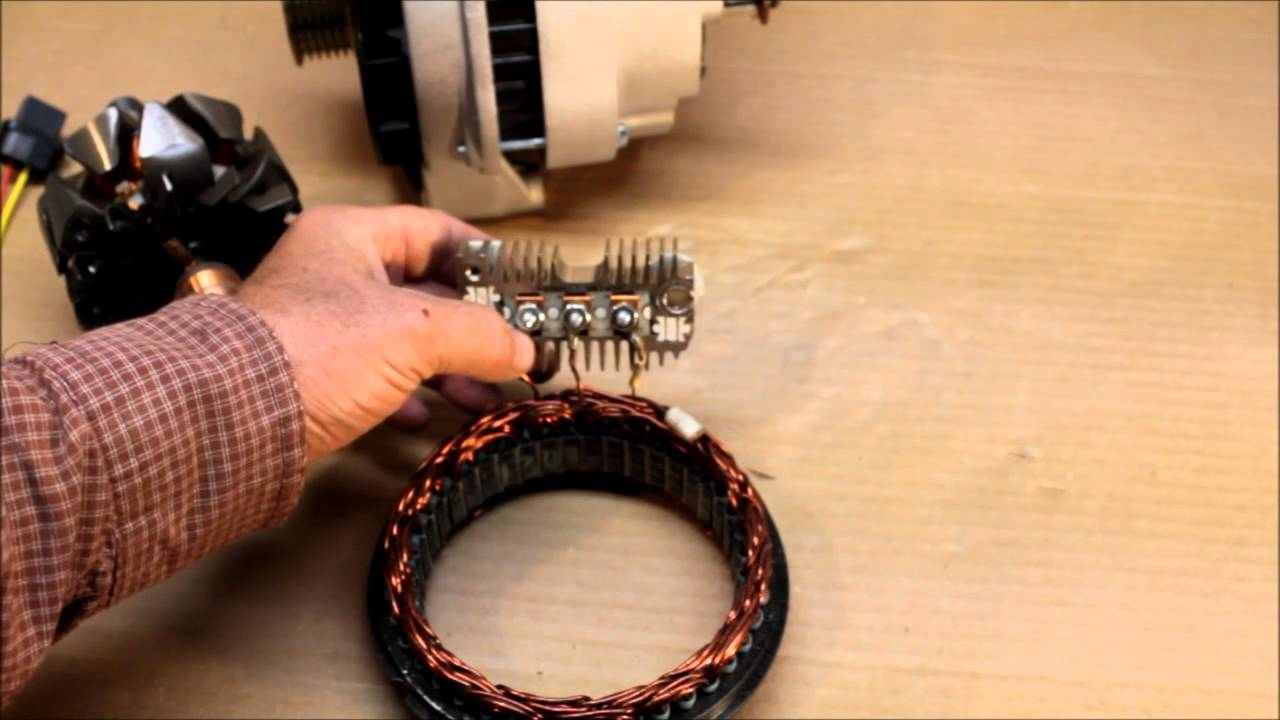 How Automotive Alternators Work  Made Simple