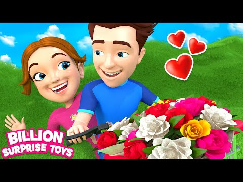 Daisy, Daisy, Give me your answer - do!   Kids Songs   Billion Surprise Toys