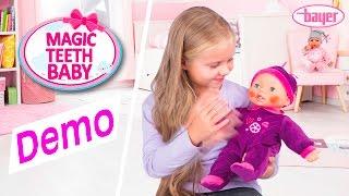 Magic Teeth Baby - Doll - Puppe - Demo - Bayer Design