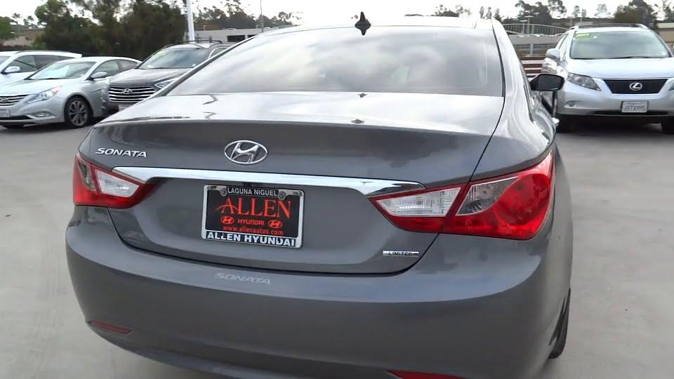 2013 Hyundai Sonata Orange County, Irvine, Laguna Niguel, Newport Beach,  Mission Viejo, CA H8682A. Allen Automotive