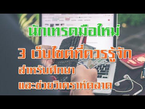 3 เว็บไซด์สำหรับ นักเทรด forex มือใหม่ ต้องรู้✅✅✅