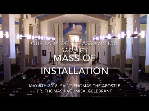 Our Lady of the Assumption Sodality 2018 Mass of Installation