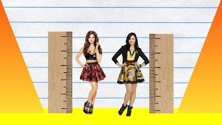 We compare selena gomez and demi lovato in height, visually with data, reveal just how much the difference is between two pop-stars!