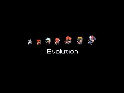 Эволюция компьютерной графики в играх 1980-2014г.