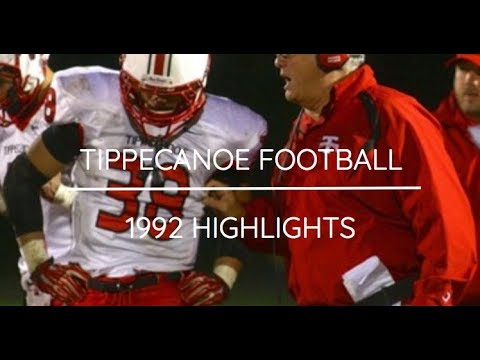 TIPPECANOE FOOTBALL | 1992 HIGHLIGHT FILM
