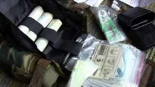 видео Индивидуальная аптечка военнослужащего: состав
