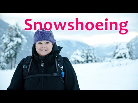 Snowshoeing in The Canadian Rockies (Kimberley BC)