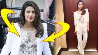 Priyanka Chopra Looks HOT In A Transparent Top At The London Promotions Of Baywatch