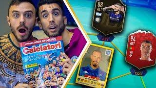 ABBIAMO TROVATO RONALDO e HAMSIK!! | APERTURA BUSTINE CALCIATORI PANINI 2018 2019 su FIFA 19 EP.3