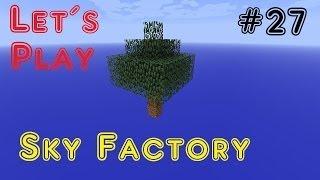 Lets Play Minecraft Sky Factory Part 27 [German] - Magical Crops Farm 2 von 5