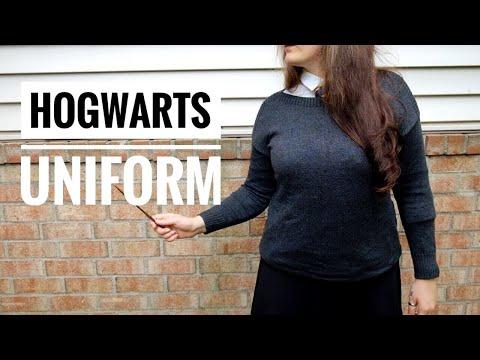 DIY Hogwarts School Uniform