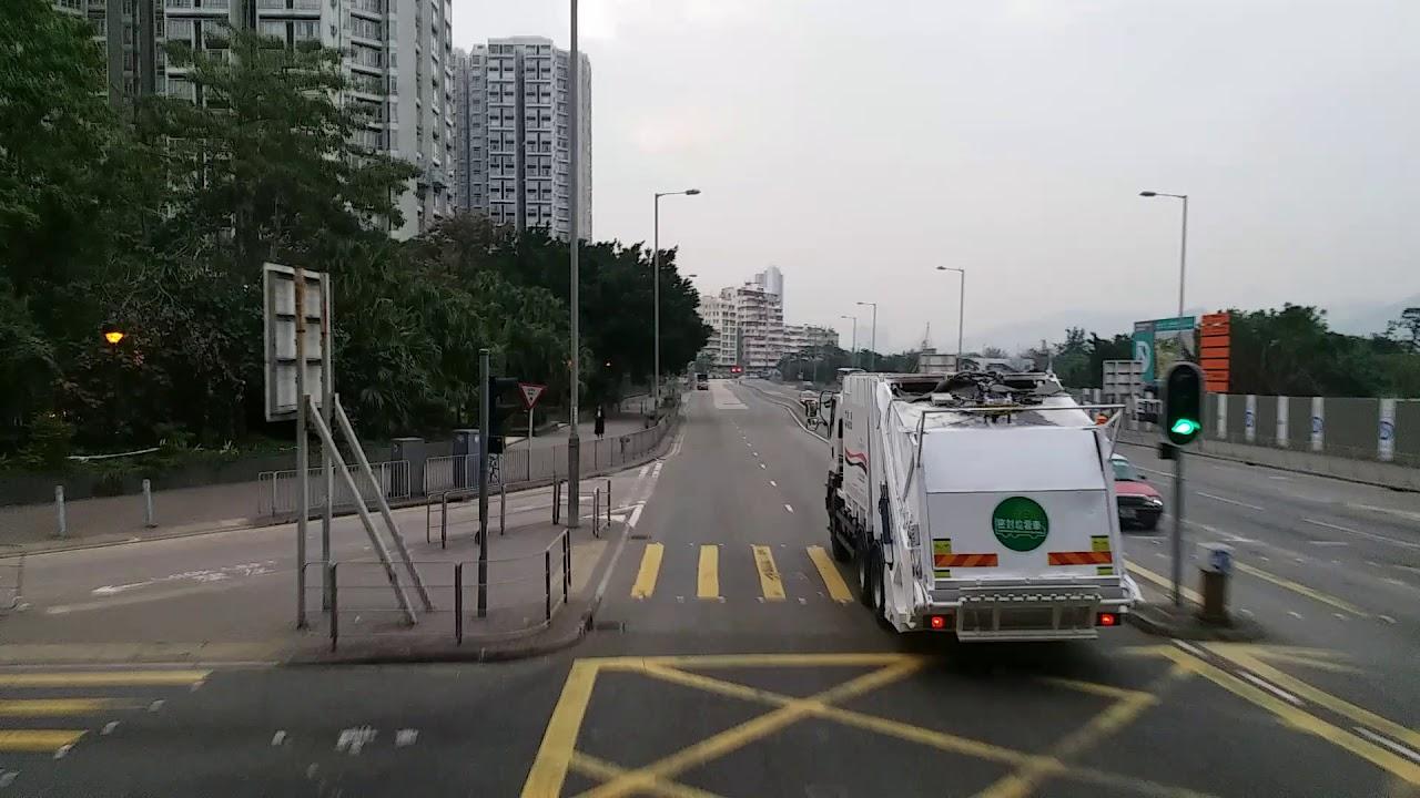 九巴40綫(TW3792--新車, 新報站器)--觀塘市中心至藍田麗港城終站 - YouTube