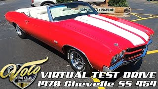 1970 Chevrolet Chevelle SS 454 Virtual Test Drive at Volo Auto Museum (V18982)