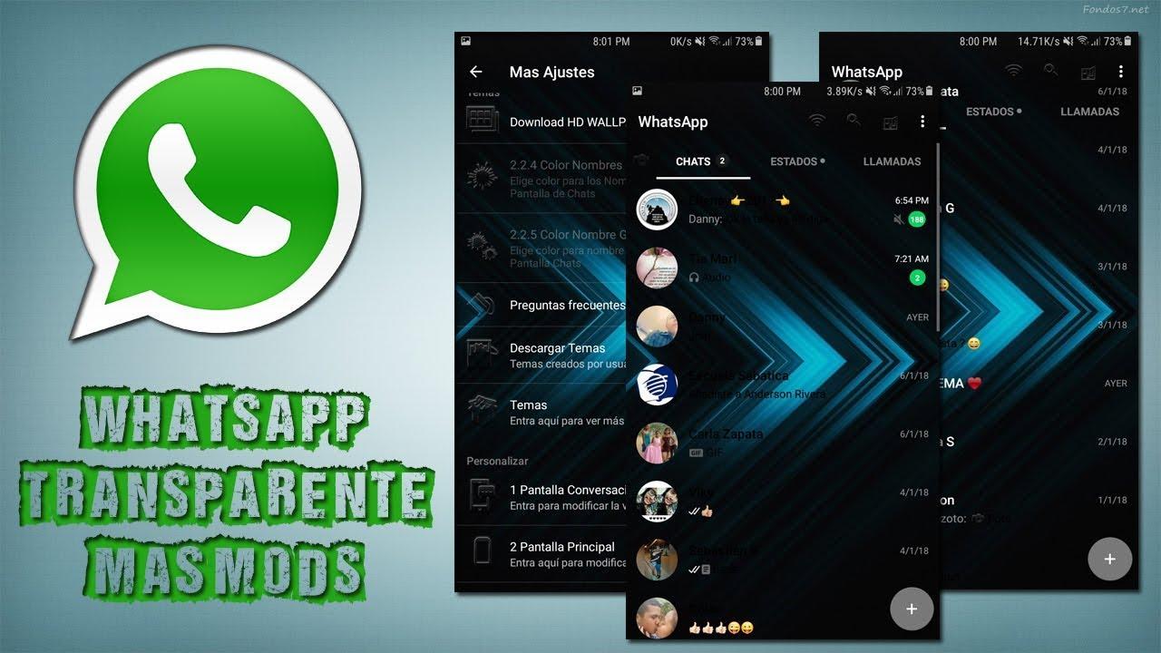 Descargar whatsapp transparente