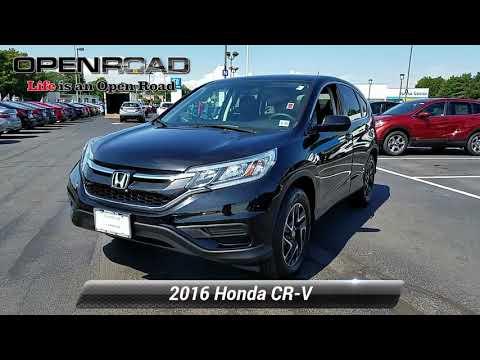 Certified 2016 Honda CR-V SE, Edison, NJ 10890P