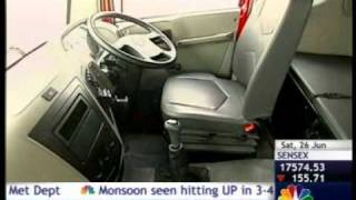 Mahindra Navistar MN 25 Review and Test Drive on CNBC TV18 Overdrive