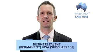 Your Guide to the Australian Business Talent 132 visa. Straight to Permanent Residency - PR Visa!