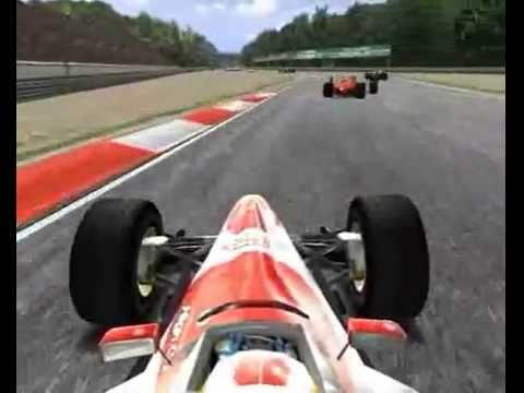 Warm Up motor racing video game trailer - PC - YouTube