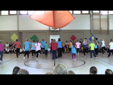 Hip Hop Choreographie - Klasse 3c Grundschule Hiddesen