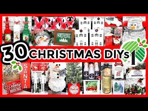 *NEW* DOLLAR TREE CHRISTMAS DIYS (fun Crafts And Easy Decor Ideas For 2020!)