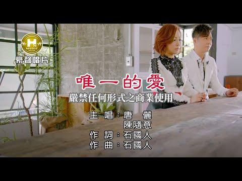 唐儷vs陳隨意-唯一的愛【KTV導唱字幕】1080p