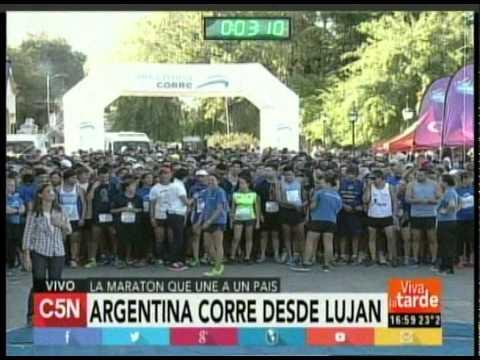 C5N  -ARGENTINA CORRE: EN LUJAN LARGADA (PARTE 4)