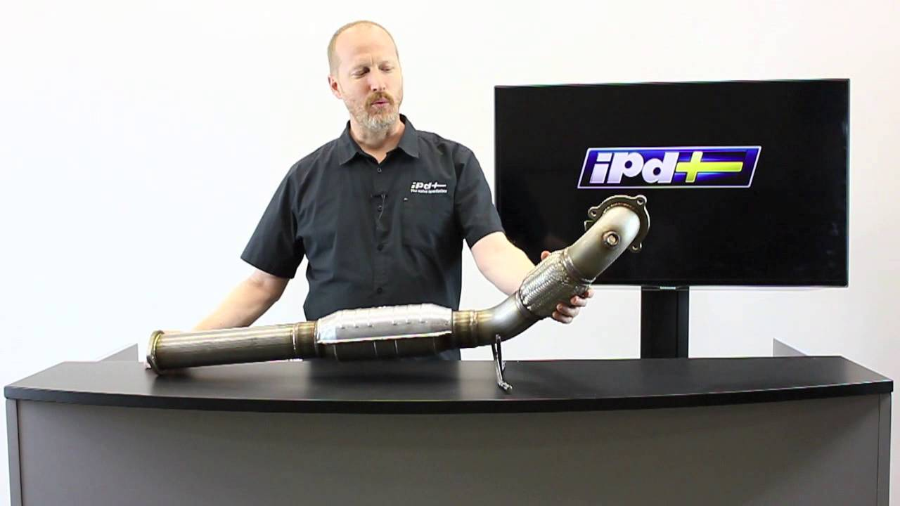 ipd Volvo - Performance Downpipe for 2001-09 FWD S60 and 2001-07 FWD V70 - YouTube