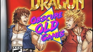 Obscure Old Games: Double Dragon Advance