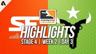 San Francisco Shock vs Houston Outlaws | Overwatch League Highlights OWL Stage 4 Week 2 Day 3