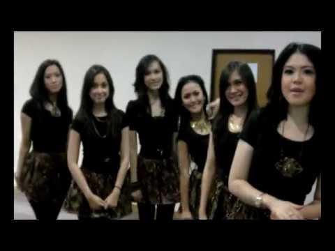 Tina with D'Girls profile - Cinta Buta