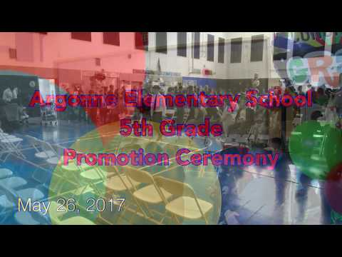 Argonne Elementary School_5th Grade Promotion Ceremony_May 26,2017