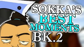 Sokka's Best & Funniest Moments from Book 2 ( Avatar: The Last Airbender )