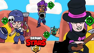 SHOWDOWN OF SECOND GADGETS #1 - Brawl Stars animation