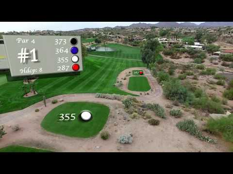 Desert Canyon Golf Club Hole 1 Flyover