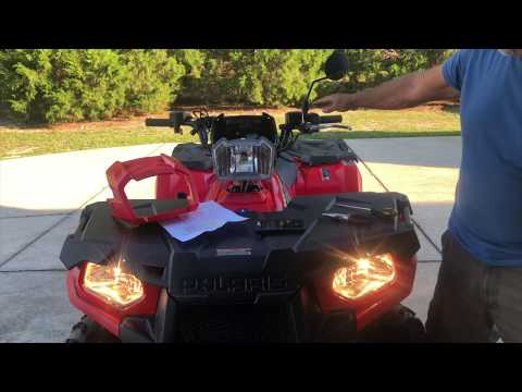 Repeat 2018 Polaris Sportsman 570 Headlight Mod  by Da Vinci