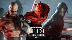Jedi Fallen Order - FREE CAM MOD + Darth Sion v Darth Maul v 2nd Sister