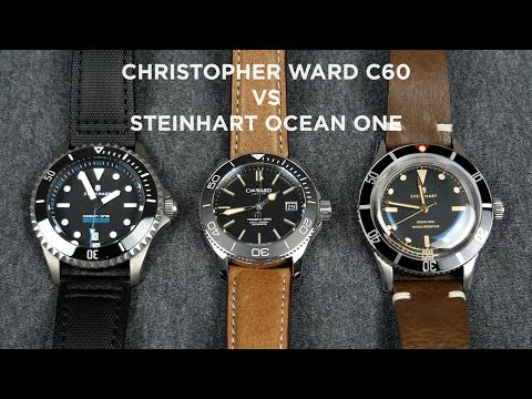 Christopher Ward C60 vs Steinhart Ocean One  Which Brand Makes The Best Dive Watches?