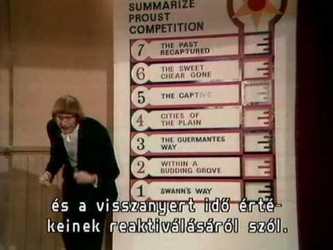 """Monty Python FC 31. - """"Országos Proust-összefoglaló verseny"""" (""""Summarize Proust Competition"""")"""
