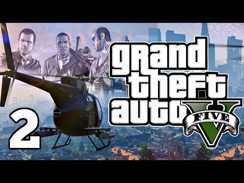 GRAND THEFT AUTO V ► Episode 2: Trying To Steal A Jet