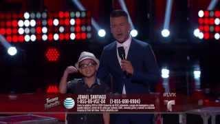 La Voz Kids | Jonael Santiago canta 'Hilito' en La Voz Kids