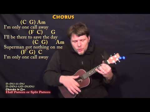 One Call Away (Charlie Puth) Ukulele Cover Lesson With Chords/Lyrics - Capo 1st